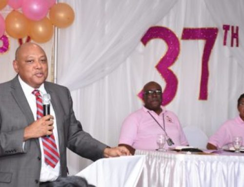 Minister Trotman's remarks at GGMC 37th Anniversary