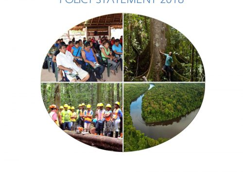 Guyana's National Forest Policy Statement – 2018