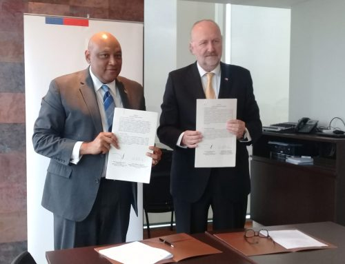 Press Release – MOU Signed between Government of Guyana and National Service of Geology and Mining Government of the Republic of Chile
