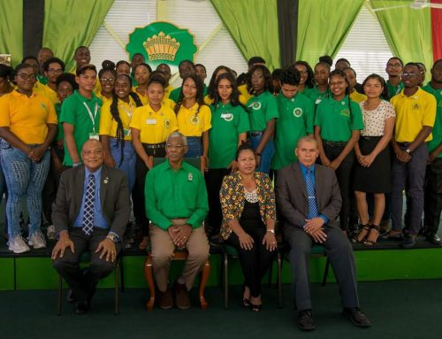 Press Release – 28 Youth graduate from Ministry of Natural Resources Youth Apprenticeship Programme