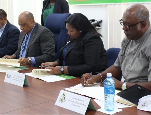 Hon. Raphael G.C Trotman remarks – Signing of Memorandum of Understanding for the Management of the Importation of Mercury into the Cooperative Republic of Guyana
