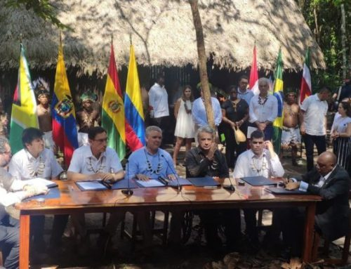 Press Release – Guyana signs historic Amazonian pact to protect tropical forest