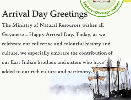 Arrival Day Greetings!