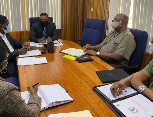Press Release – Minister of Natural Resources Hon. Vickram Bharrat meets with Heads of Agencies in the Natural Resources Sector